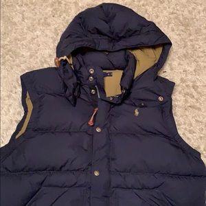Polo Ralph Lauren Elmwood quilted down hooded vest